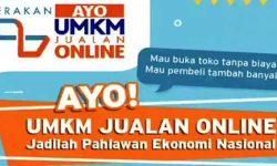 Kominfo Dukung Gerakan Ayo UMKM Jualan Online Via Internet