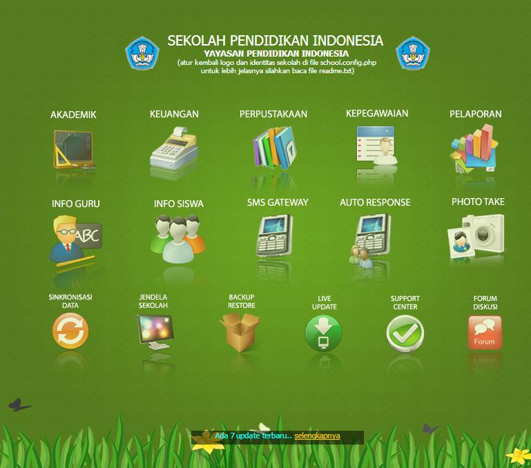 Jibas Aplikasi Managemen sekolah GRATIS