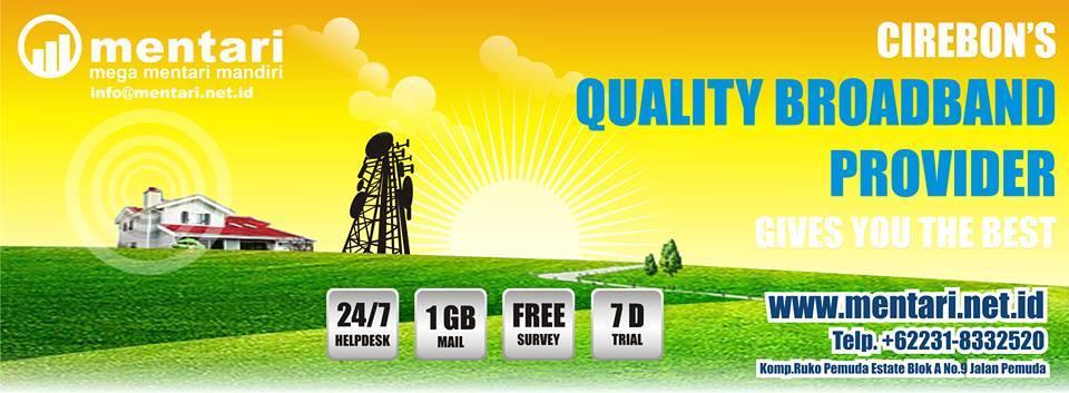 Mentari ISP Cirebon Penyedia Jasa Internet Dengan Layanan Prima