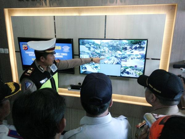 Polisi Mulai Pasangi CCTV di Jalur Mudik